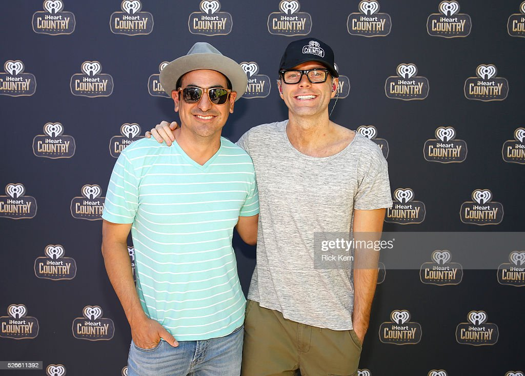 Producer Eddie and radio personality <a gi-track='captionPersonalityLinkClicked' href=/galleries/search?phrase=Bobby+Bones&family=editorial&specificpeople=9753112 ng-click='$event.stopPropagation()'>Bobby Bones</a> of <a gi-track='captionPersonalityLinkClicked' href=/galleries/search?phrase=Bobby+Bones&family=editorial&specificpeople=9753112 ng-click='$event.stopPropagation()'>Bobby Bones</a> and The Raging Idiots attend the 2016 Daytime Village at the iHeartCountry Festival at The Frank Erwin Center on April 30, 2016 in Austin, Texas.