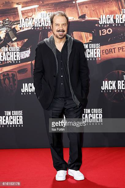 US producer Edward Zwick attends the 'Jack Reacher Never Go Back' Berlin Premiere at CineStar Sony Center Potsdamer Platz on October 21 2016 in...