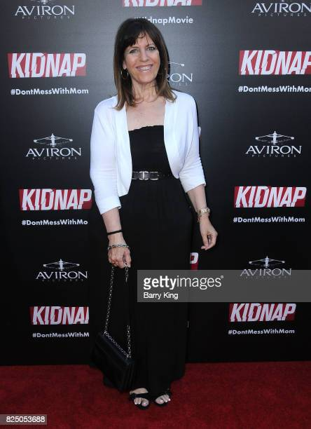 Producer Elaine GoldsmithThomas attends the Premiere of Aviron Pictures' 'Kidnap' at ArcLight Hollywood on July 31 2017 in Hollywood California