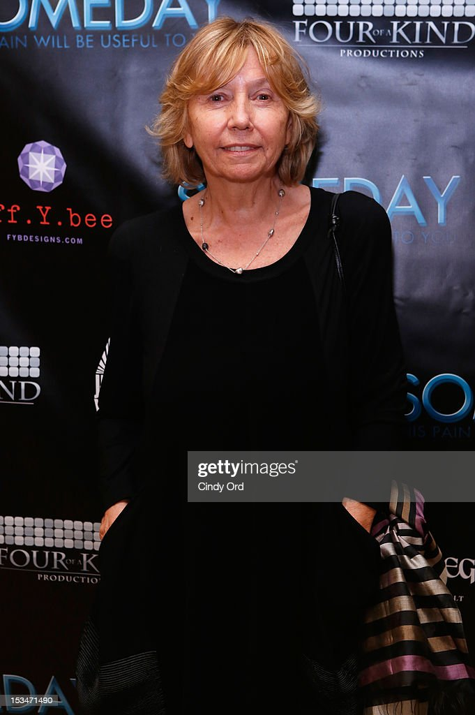 Producer Elda Ferri attends the 'Someday This Pain Will Be Useful To You' New York Screening after party at Kiehl's Since 1851 Flagship Store on October 5, 2012 in New York City.