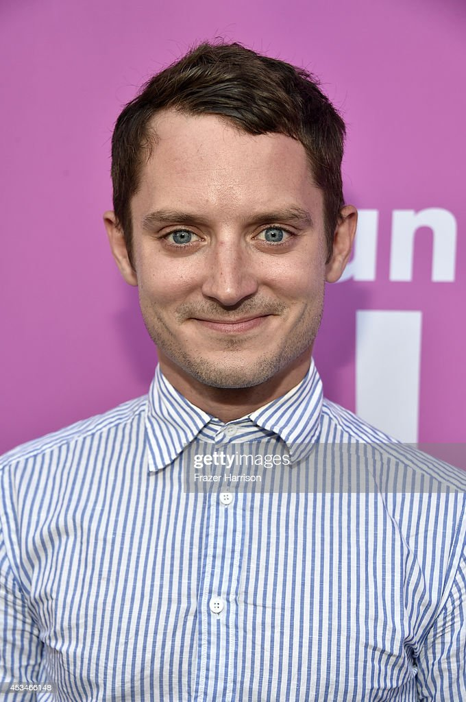 Producer Elijah Wood attends the screening of 'A Girl Walks Home Alone at Night' with Warpaint in concert during Sundance NEXT FEST at The Theatre at...