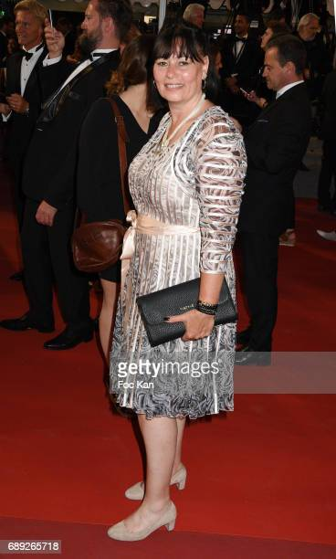 Producer Elisabeth Deshayes attends the 'You Were Never Really Here' screening during the 70th annual Cannes Film Festival at Palais des Festivals on...