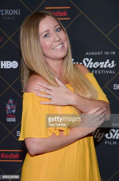 Elizabeth Lloyd attends the 2017 HollyShorts Film Festival Opening Night Gala at TCL Chinese 6 Theatres on August 10 2017 in Hollywood California