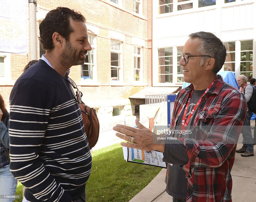 Producer Emile Sherman and director of the Sundance Film Festival John Cooper attend a screening for the film 'Tracks' at the 2013 Telluride Film Festival - Day 4 on September 1, 2013 in Telluride, Colorado.