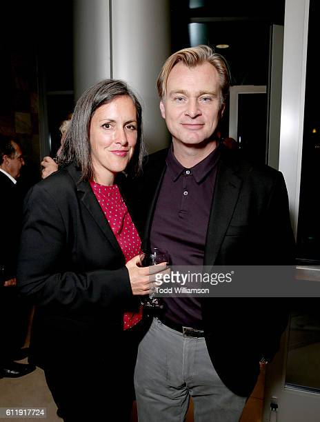Producer Emma Thomas and filmmaker Christopher Nolan attend the MPTF 95th anniversary celebration with 'Hollywood's Night Under The Stars' at MPTF...