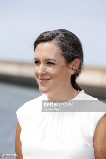Producer Emma Thomas poses for 'Dunkirk' Photocall on July 16 2017 in Dunkerque France