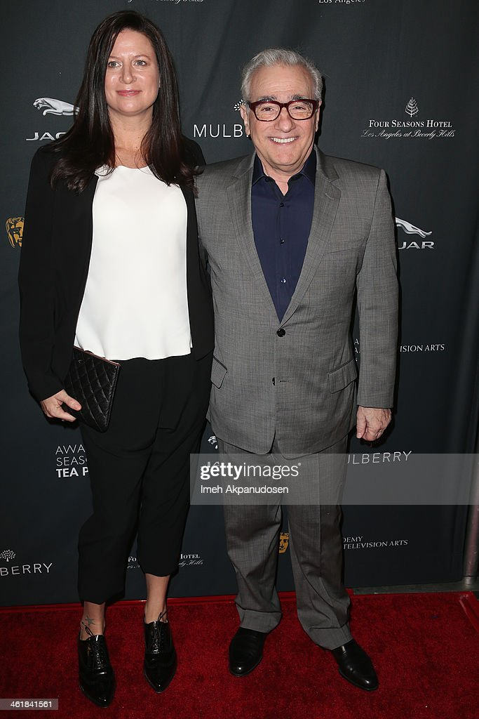 Producer Emma Tillinger Koskoff and director Martin Scorsese attend the BAFTA LA 2014 Awards Season Tea Party at the Four Seasons Hotel Los Angeles at Beverly Hills on January 11, 2014 in Beverly Hills, California.