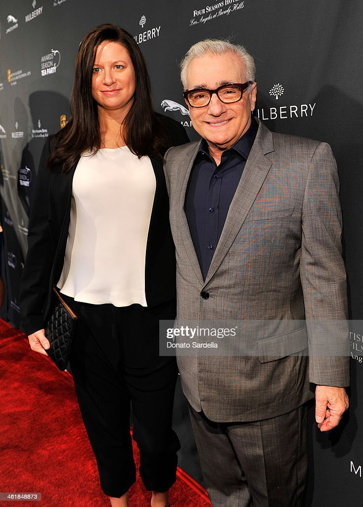 Producer Emma Tillinger Koskoff (L) and director <a gi-track='captionPersonalityLinkClicked' href=/galleries/search?phrase=Martin+Scorsese&family=editorial&specificpeople=201976 ng-click='$event.stopPropagation()'>Martin Scorsese</a> attend the BAFTA LA Awards Season Tea Party with Mulberry at the Four Seasons Hotel Los Angeles at Beverly Hills on January 11, 2014 in Beverly Hills, California.
