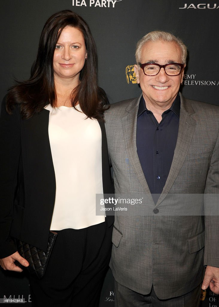 Producer Emma Tillinger Koskoff and director <a gi-track='captionPersonalityLinkClicked' href=/galleries/search?phrase=Martin+Scorsese&family=editorial&specificpeople=201976 ng-click='$event.stopPropagation()'>Martin Scorsese</a> attend the BAFTA LA 2014 awards season tea party at Four Seasons Hotel Los Angeles at Beverly Hills on January 11, 2014 in Beverly Hills, California.