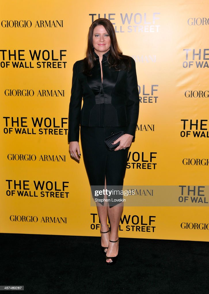 Producer Emma Tillinger Koskoff attends Giorgio Armani Presents: 'The Wolf Of Wall Street' world premiere at the Ziegfeld Theatre on December 17, 2013 in New York City.