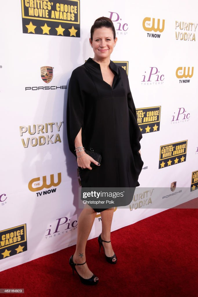 Producer Emma Tillinger Koskoff attends the 19th Annual Critics' Choice Movie Awards at Barker Hangar on January 16, 2014 in Santa Monica, California.