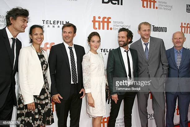 Producer Eric Altmayer Executive Director of Unifrance Films Isabelle Giordano Writer/Director Francois Ozon Actress Anais Demoustier Actor Romain...