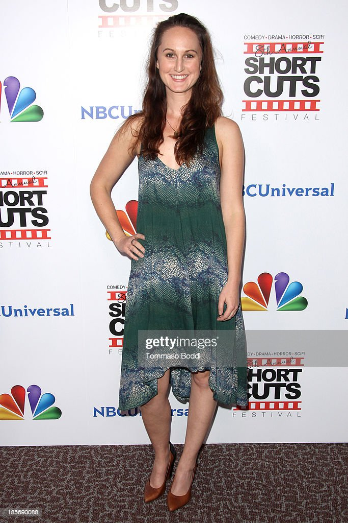 Producer Erin Krozek attends the NBCUniversal's 8th annual 'Short Cuts Festival' grand finale held at DGA Theater on October 23, 2013 in Los Angeles, California.