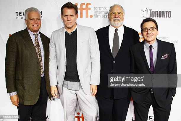 Producer Eugene Musso producer Al Corley executive producer Jonathan Dana producer Bart Rosenblatt arrive at 'The Forger' Premiere during the 2014...