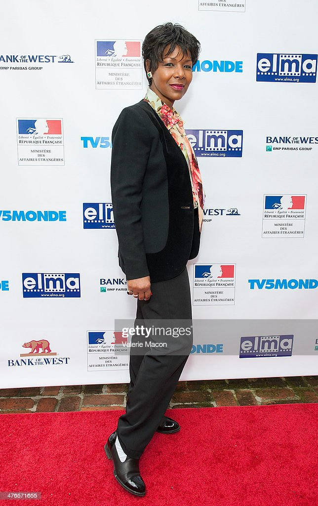 Producer Euzhan Palcy attends The Consul General Of France, Mr. Axel Cruau, Honors The French Nominees For The 86th Annual Academy Awards party on March 3, 2014 in Beverly Hills, California.