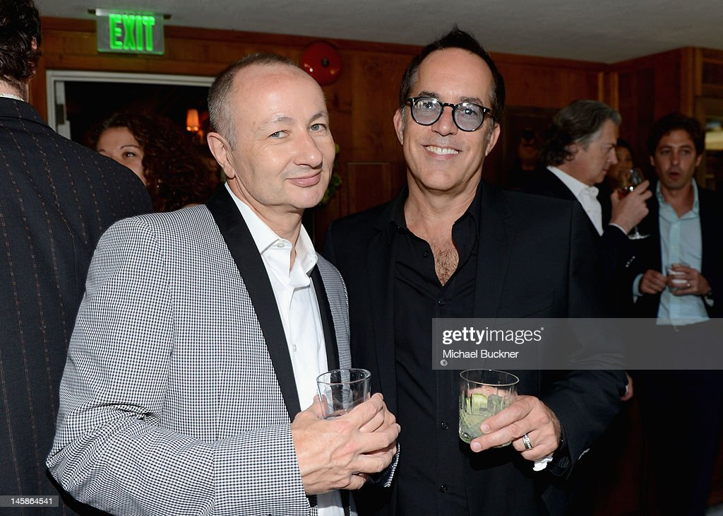 Producer Fenton Bailey and director, Sundance Film Festival John Cooper attend the Sundance Institute Benefit presented by Tiffany & Co. in Los Angeles held at Soho House on June 6, 2012 in West Hollywood, California.