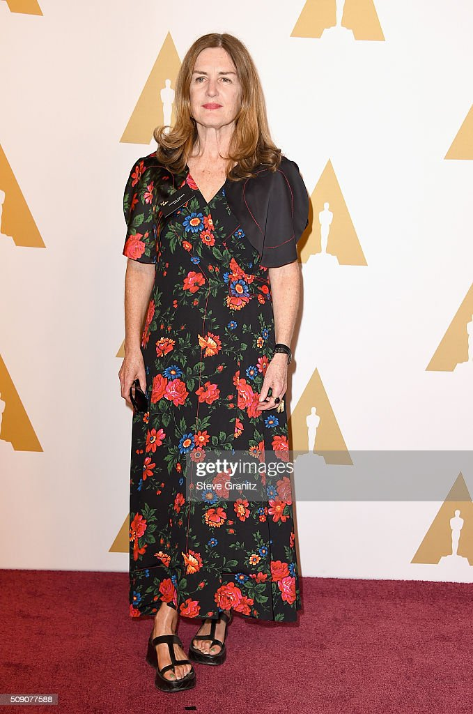 Producer <a gi-track='captionPersonalityLinkClicked' href=/galleries/search?phrase=Finola+Dwyer&family=editorial&specificpeople=3207839 ng-click='$event.stopPropagation()'>Finola Dwyer</a> attends the 88th Annual Academy Awards nominee luncheon on February 8, 2016 in Beverly Hills, California.