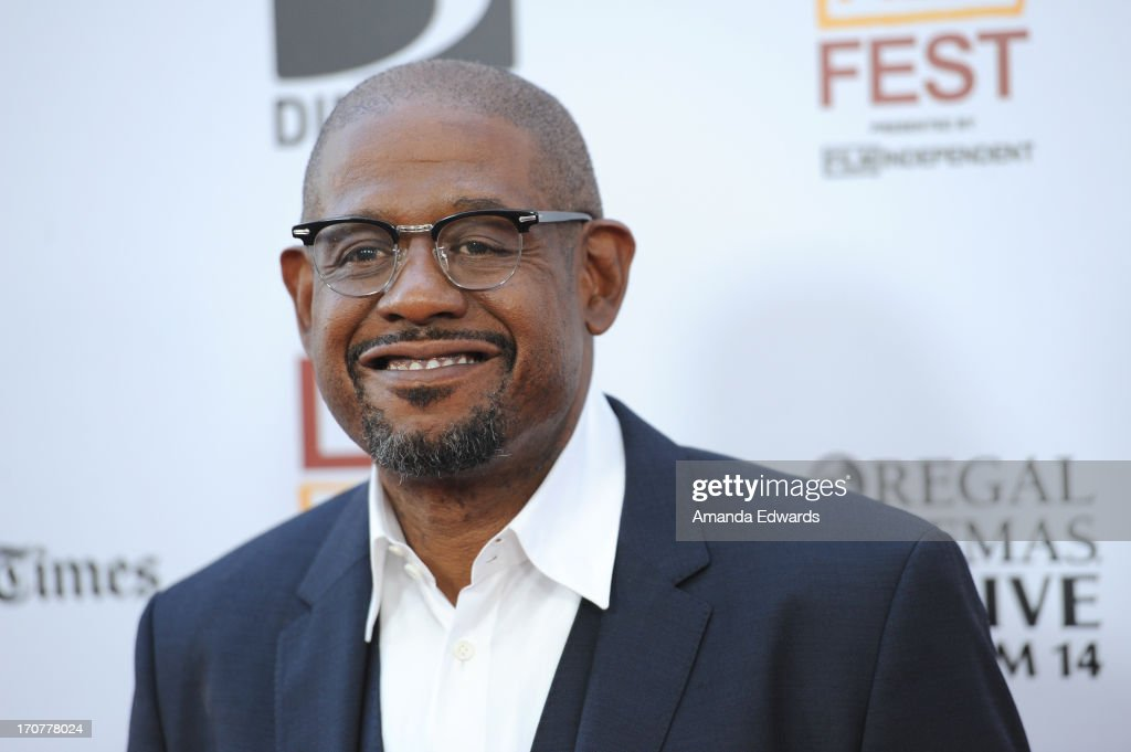 Producer <a gi-track='captionPersonalityLinkClicked' href=/galleries/search?phrase=Forest+Whitaker&family=editorial&specificpeople=226590 ng-click='$event.stopPropagation()'>Forest Whitaker</a> attends the 'Fruitvale Station' premiere during the 2013 Los Angeles Film Festival at Regal Cinemas L.A. Live on June 17, 2013 in Los Angeles, California.
