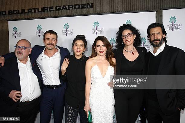 Producer Francisco Gonzalez Compean actor Ben O'Toole Director Catalina Aguilar actress Karla Souza Hebe Tabachnik and actor Jose Maria Yazpik attend...