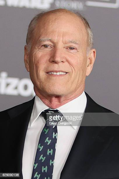Producer Frank Marshall arrives at the premiere of Walt Disney Pictures and Lucasfilm's 'Rogue One A Star Wars Story' at the Pantages Theatre on...