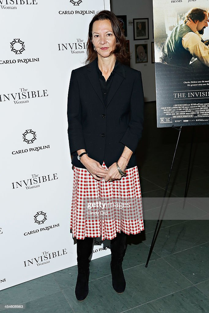 Producer Gabrielle Tana attends 'The Invisible Woman' New York Premiere at Museum of Modern Art on December 9, 2013 in New York City.