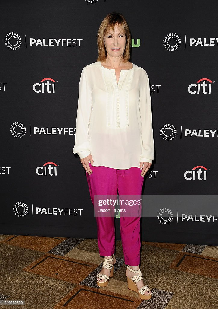 Producer Gale Anne Hurd attends the 'Fear The Walking Dead' event at the 33rd annual PaleyFest at Dolby Theatre on March 19, 2016 in Hollywood, California.