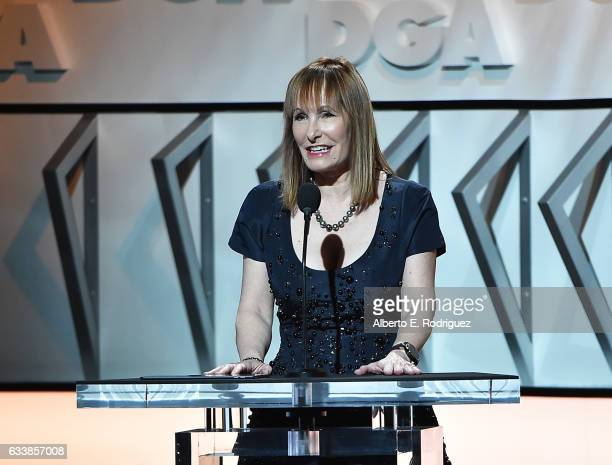 Producer Gale Anne Hurd onstage during the 69th Annual Directors Guild of America Awards at The Beverly Hilton Hotel on February 4 2017 in Beverly...