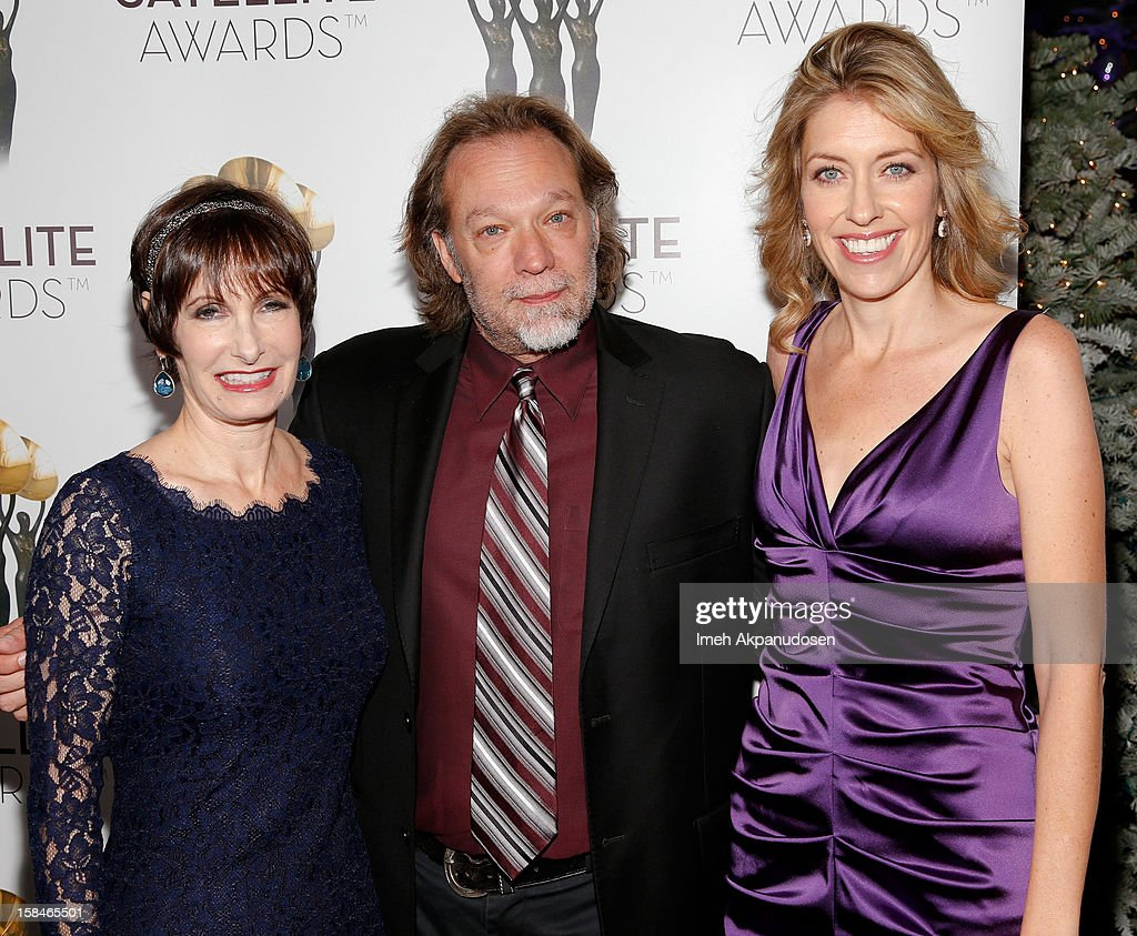 Producer Gale Anne Hurd, special effects artist Gregory Nicotero, and producer Denise M. Huth attend International Press Academy's 17th Annual Satellite Awards at InterContinental Hotel on December 16, 2012 in Century City, California.