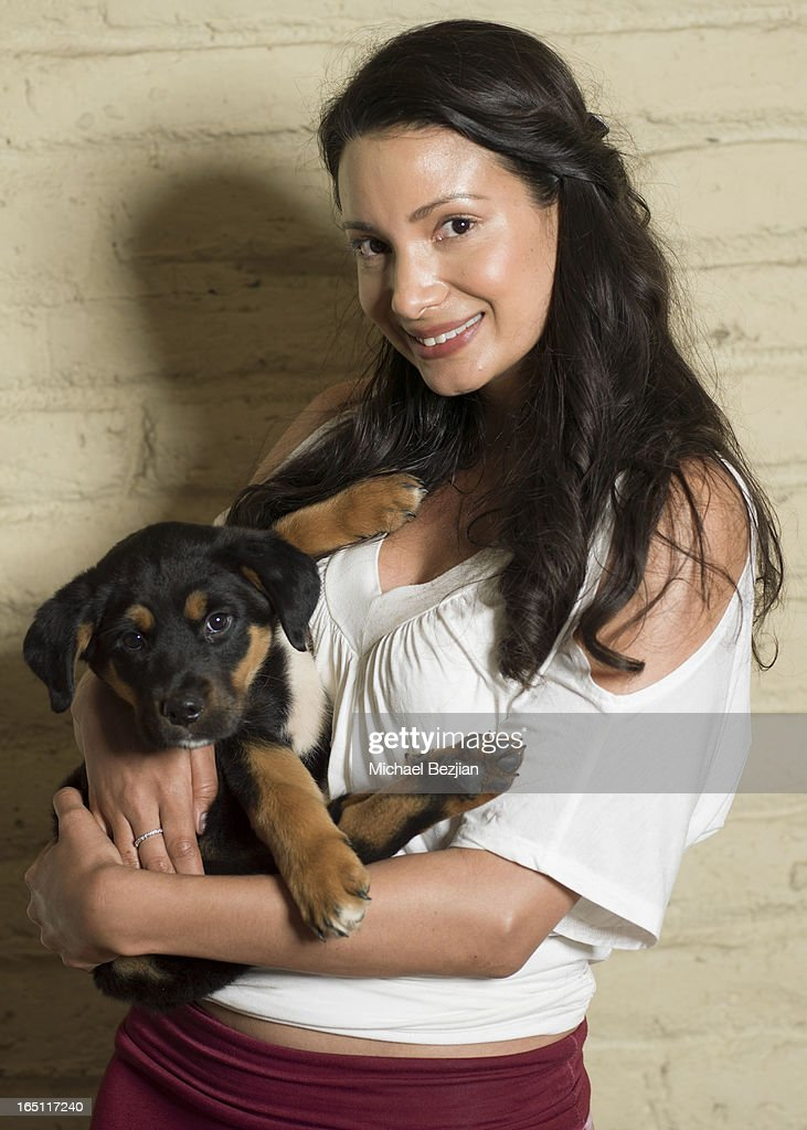 Producer Galina Liss attends Posing Heroes, 'A Dog Day Afternoon' Benefiting A Wish For Animals on March 30, 2013 in Los Angeles, California.