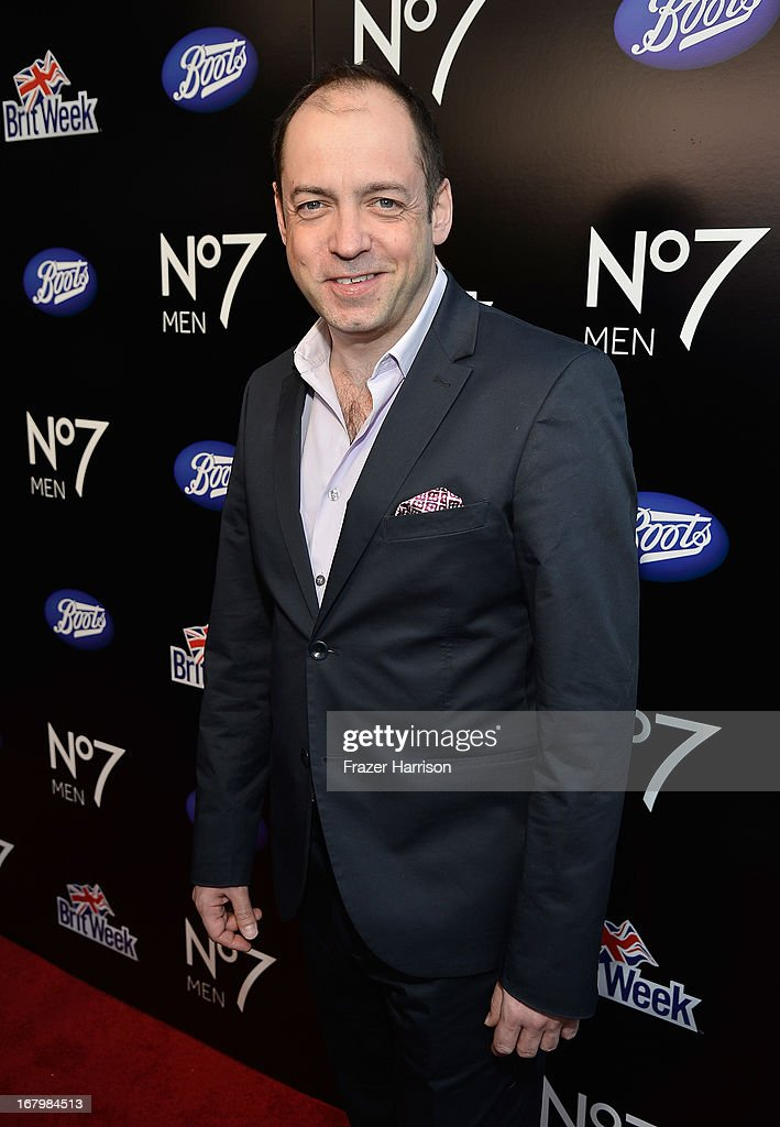 Producer <a gi-track='captionPersonalityLinkClicked' href=/galleries/search?phrase=Gareth+Neame&family=editorial&specificpeople=5939160 ng-click='$event.stopPropagation()'>Gareth Neame</a> attends the Boots Not Men Launch at Britweek 2013 at The Fairmont Miramar Hotel on May 3, 2013 in Santa Monica, California.