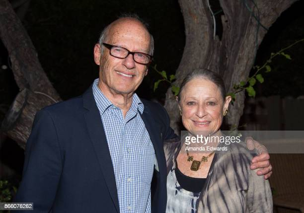 Producer Gary Shapiro and artist Jane Goren attend a reception hosted by the Consul General of France honoring Robin Campillo and celebrating the...