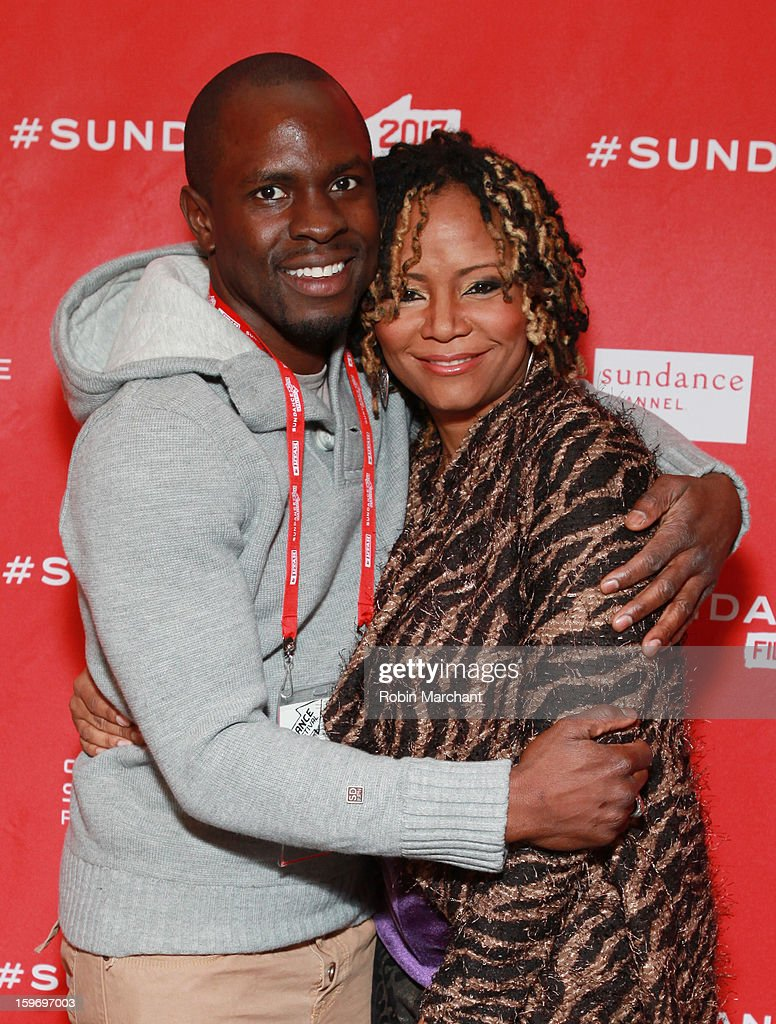 Producer <a gi-track='captionPersonalityLinkClicked' href=/galleries/search?phrase=Gbenga+Akinnagbe&family=editorial&specificpeople=2293588 ng-click='$event.stopPropagation()'>Gbenga Akinnagbe</a> (L) and actress <a gi-track='captionPersonalityLinkClicked' href=/galleries/search?phrase=Tonya+Pinkins&family=editorial&specificpeople=220801 ng-click='$event.stopPropagation()'>Tonya Pinkins</a> (R) attend the 'Newlyweeds' Premiere at Prospector Square on January 18, 2013 in Park City, Utah.