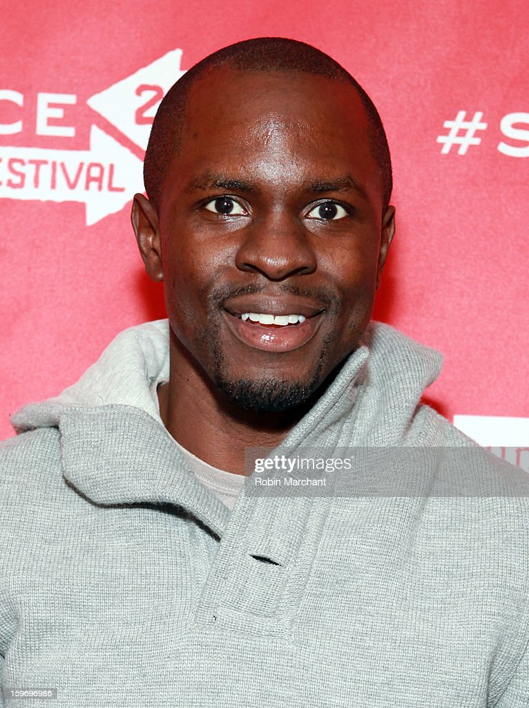 Producer <a gi-track='captionPersonalityLinkClicked' href=/galleries/search?phrase=Gbenga+Akinnagbe&family=editorial&specificpeople=2293588 ng-click='$event.stopPropagation()'>Gbenga Akinnagbe</a> attends the 'Newlyweeds' Premiere at Prospector Square on January 18, 2013 in Park City, Utah.