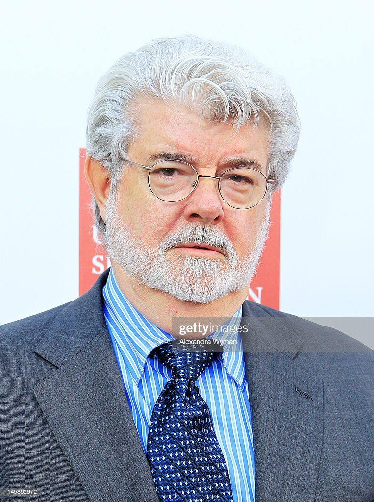 Producer <a gi-track='captionPersonalityLinkClicked' href=/galleries/search?phrase=George+Lucas&family=editorial&specificpeople=202500 ng-click='$event.stopPropagation()'>George Lucas</a> arrives at the USC Shoah Foundation Institute Ambassadors for Humanity Gala held at the Grand Ballroom at Hollywood & Highland Center on June 6, 2012 in Hollywood, California.