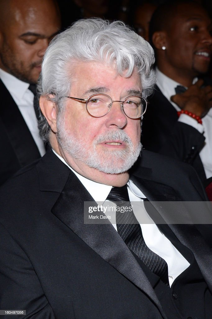 Producer George Lucas attends the 44th NAACP Image Awards at The Shrine Auditorium on February 1, 2013 in Los Angeles, California.