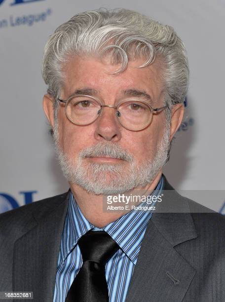 Producer George Lucas attends the AntiDefamation League's Centennial Entertainment Industry Award Dinner at The Beverly Hilton Hotel on May 8 2013 in...