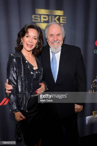 Producer George Schlatter and Jolene Brand arrive at Spike TV's 'Eddie Murphy One Night Only' at the Saban Theatre on November 3 2012 in Beverly...