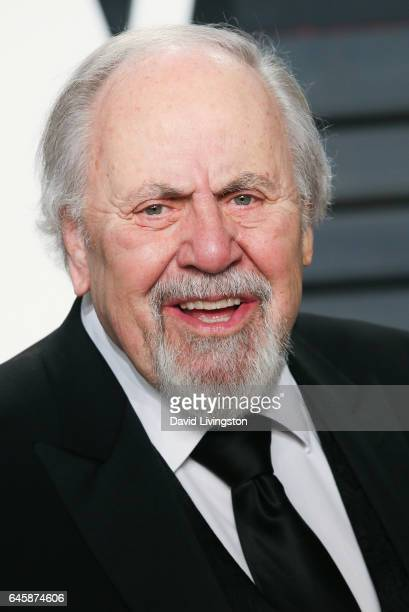 Producer George Schlatter attends the 2017 Vanity Fair Oscar Party hosted by Graydon Carter at the Wallis Annenberg Center for the Performing Arts on...