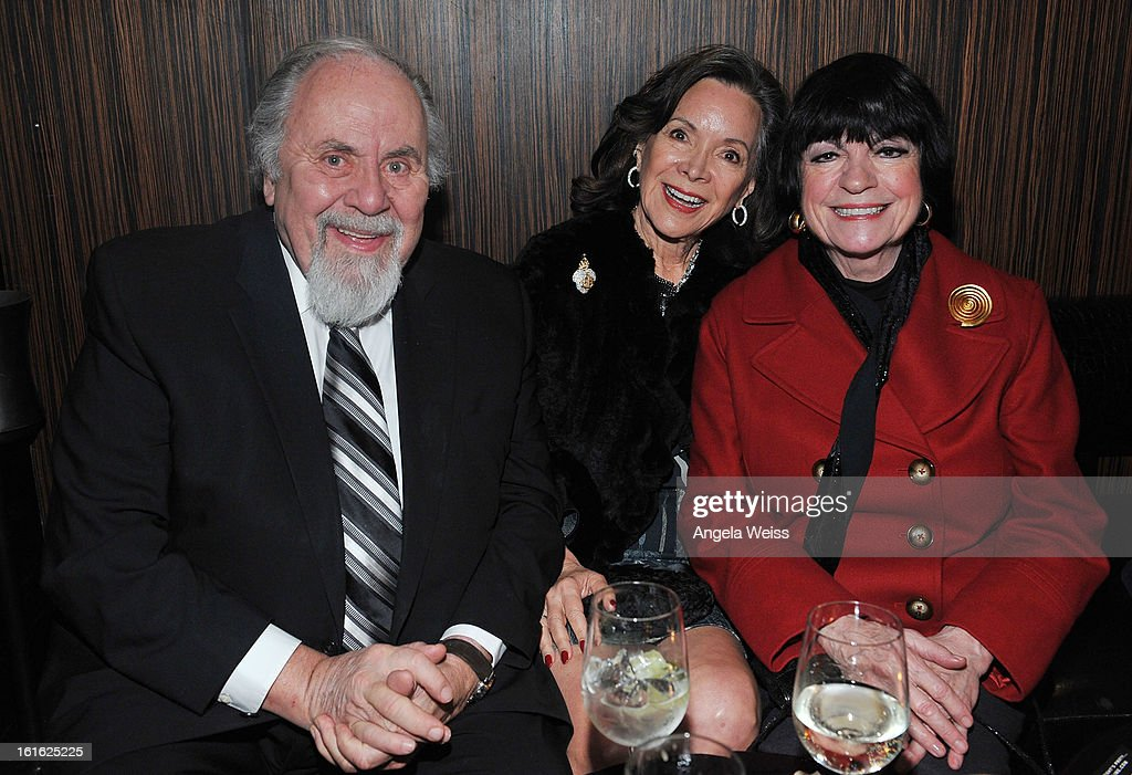Producer George Schlatter, his wife and actress Jo Anne Worley attend the opening night after party of 'Jekyll & Hyde' held at Beso on February 12, 2013 in Hollywood, California.