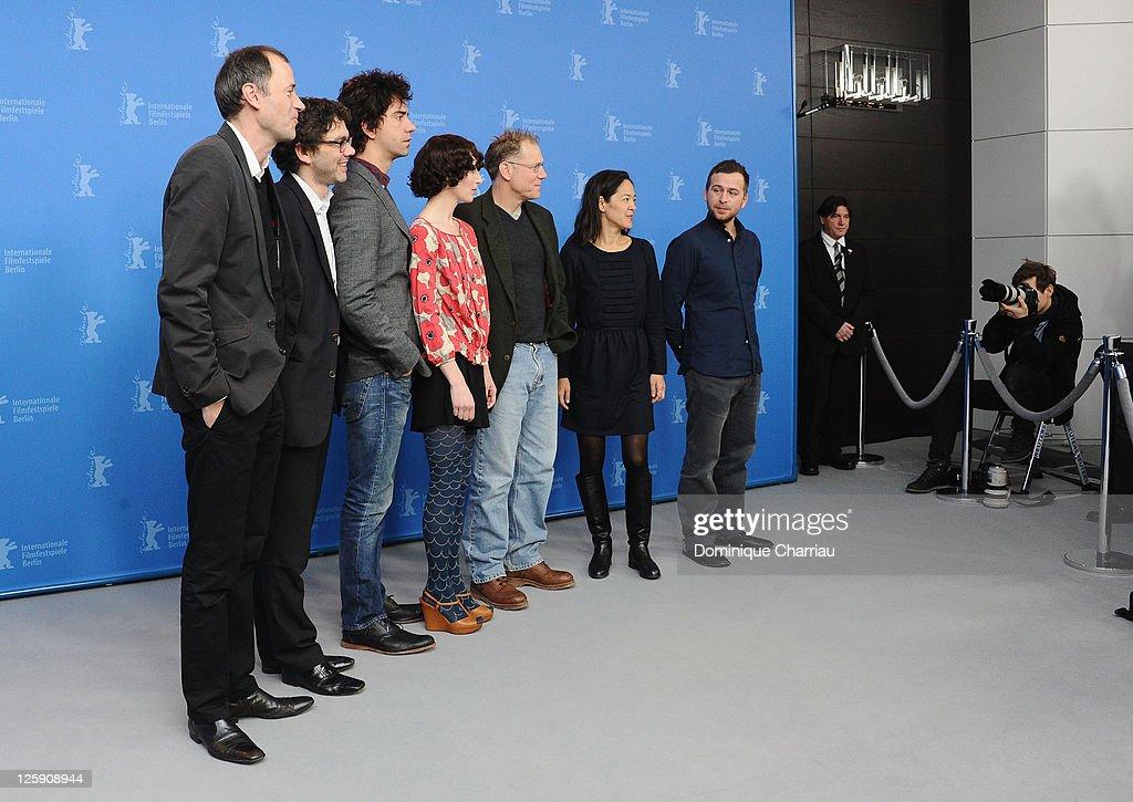 Producer Gerhard Meixner producer Roman Paul actor Hamish Linklater director and actress Miranda July actor David Warshofsky producer Gina Kwon and...