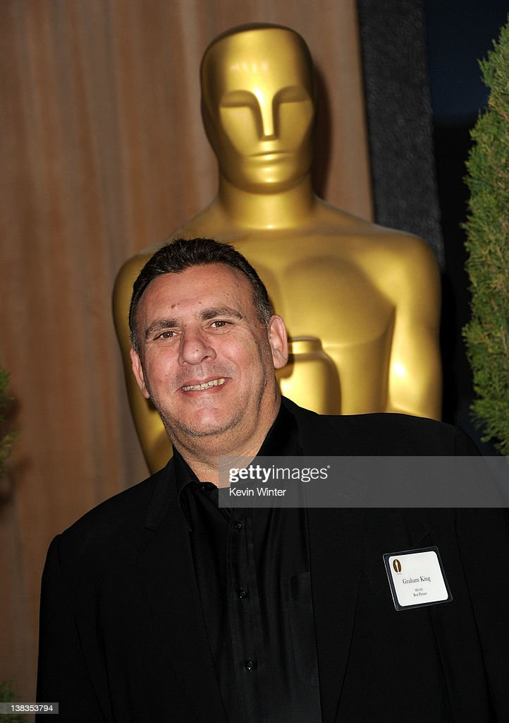 Producer Graham King arrives at the 84th Academy Awards Nominations Luncheon at The Beverly Hilton hotel on February 6 2012 in Beverly Hills...