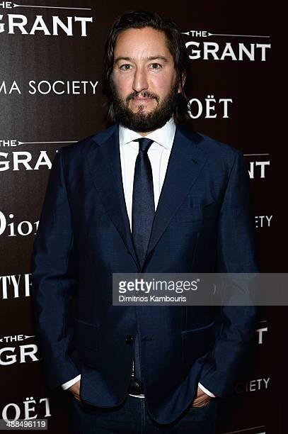 Producer Greg Shapiro attends the Dior Vanity Fair with The Cinema Society premiere of The Weinstein Company's 'The Immigrant' at The Paley Center...
