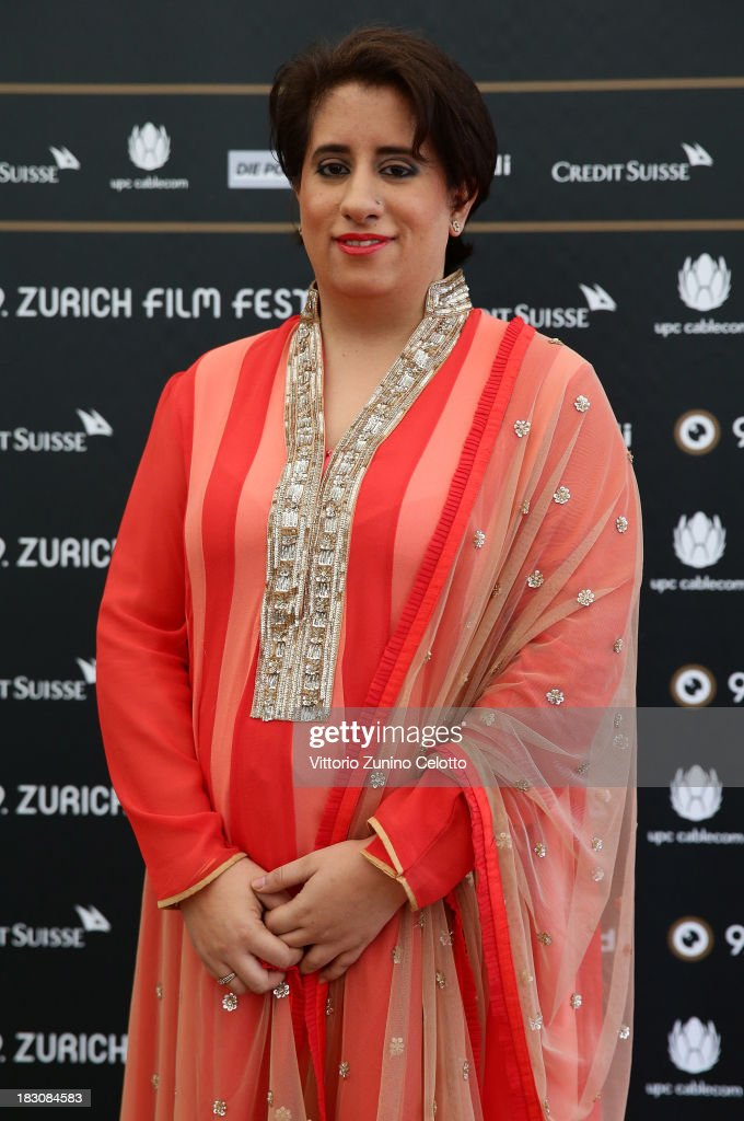 Producer Guneet Monga, International Feature Film Jury Member, attends the Jury Photocall during the Zurich Film Festival 2013 on October 4, 2013 in Zurich, Switzerland.