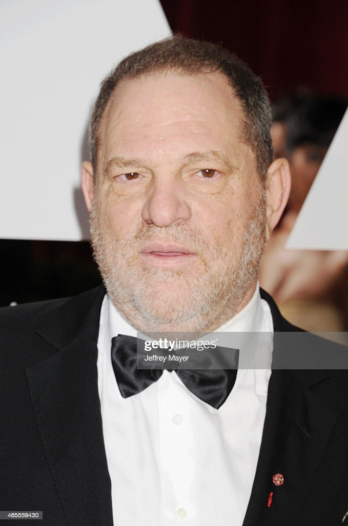 Producer Harvey Weinstein arrives at the 87th Annual Academy Awards at Hollywood Highland Center on February 22 2015 in Hollywood California