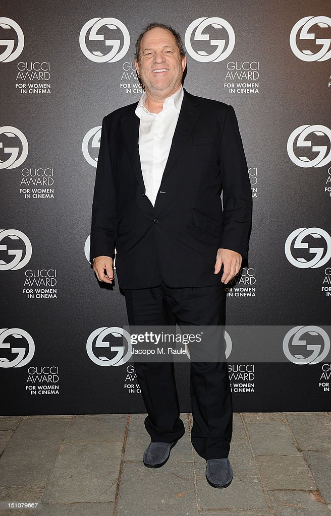 Producer Harvey Weinstein attends the Gucci Award for Women in Cinema at The 69th Venice International Film Festival at Hotel Cipriani on August 31, 2012 in Venice, Italy.
