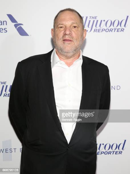 Producer Harvey Weinstein attends The Hollywood Reporter's 35 Most Powerful People In Media 2017 at The Pool on April 13 2017 in New York City