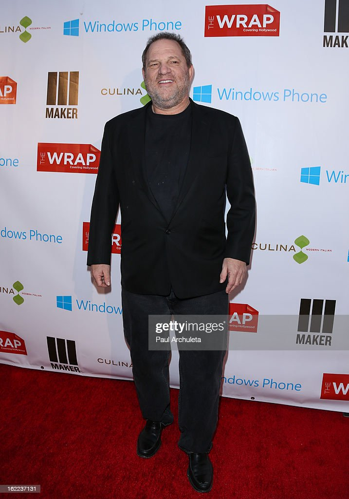 Producer <a gi-track='captionPersonalityLinkClicked' href=/galleries/search?phrase=Harvey+Weinstein&family=editorial&specificpeople=201749 ng-click='$event.stopPropagation()'>Harvey Weinstein</a> attends TheWrap 4th annual Pre-Oscar Party at the Four Seasons Hotel Los Angeles at Beverly Hills on February 20, 2013 in Beverly Hills, California.
