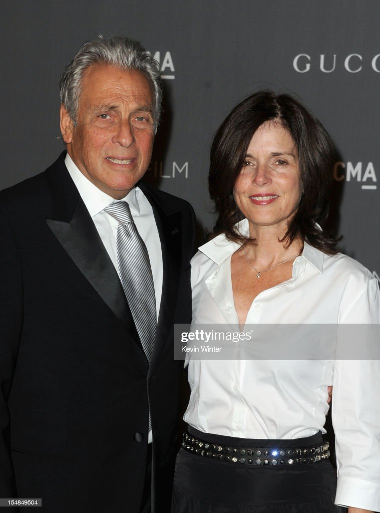 Producer Hawk Koch and Molly Koch arrive at LACMA 2012 Art + Film Gala at LACMA on October 27, 2012 in Los Angeles, California.
