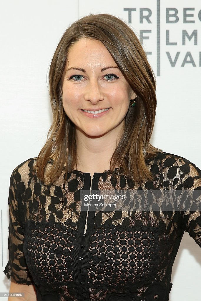 Producer Heather Kasprzak attends the 'Fear, Inc.' Premiere during the 2016 Tribeca Film Festival at Regal Battery Park Cinemas on April 15, 2016 in New York City.