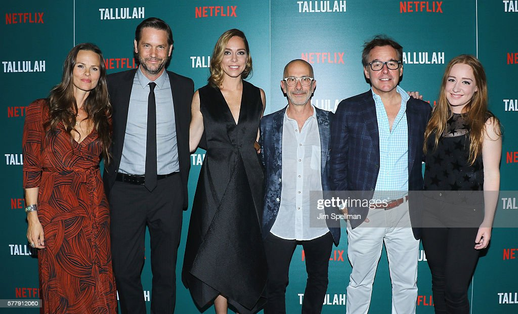 Producer Heather Rae actor David Newsom director Sian Heder producers Chris Columbus and Eleanor Columbus attend the special screening of 'Tallulah'...